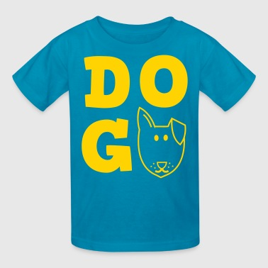 Kitty Symbols & Shapes DOD design trendy funky cool - Kids' T-Shirt