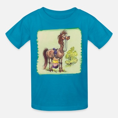 Official Hangover Thelwell Rider Hangover under Pony - Kids' T-Shirt