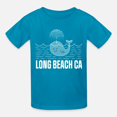 Long Beach Kids Long Beach California Whale - Kids' T-Shirt