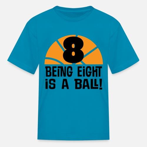 8th Birthday Basketball 8 Year Old