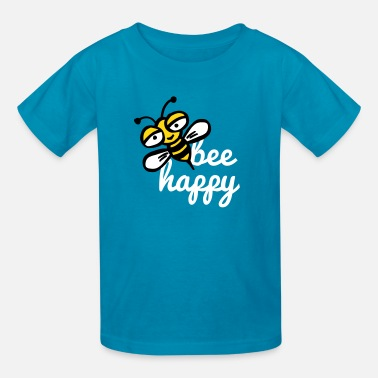 Happy bee - Kids' T-Shirt