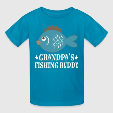 Grandpa Fishing Buddy Boys - Kids' T-Shirt