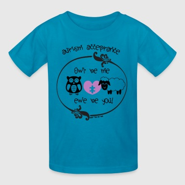 Owl Be Me Purple - Kids' T-Shirt