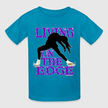 living on the edge - Kids' T-Shirt
