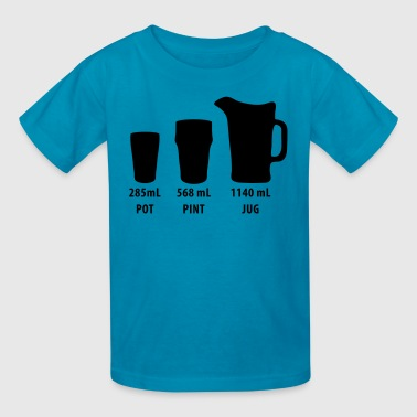 Beer - Pot - Pint - Jug Australia - Kids' T-Shirt