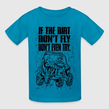 UTV Racer Dirt Fly - Kids' T-Shirt
