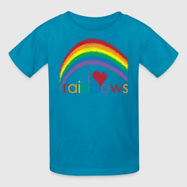 i_love_rainbows - Kids' T-Shirt