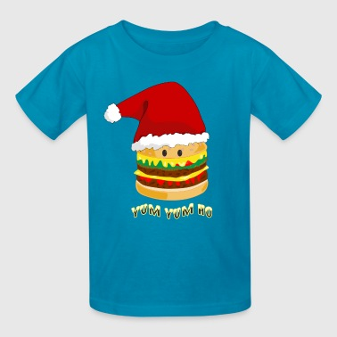 Christmas Burger - Kids' T-Shirt