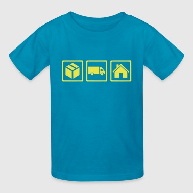 Delivery guy - Kids' T-Shirt