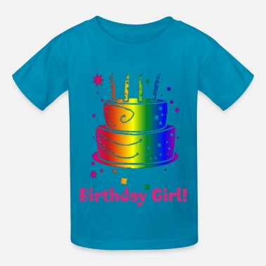 Birthday Birthday Girl! - Kids' T-Shirt