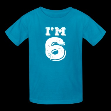 I'm 6th Birthdays - Kids' T-Shirt