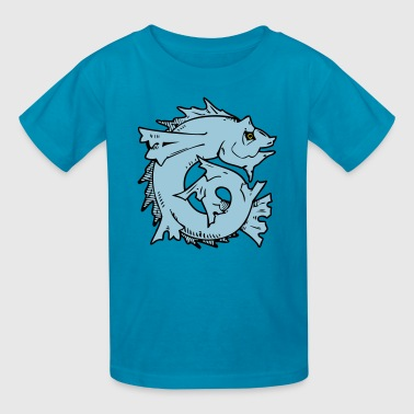 Japanese Fish Art - Kids' T-Shirt