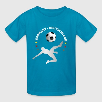 Soccer Germany Ball Team goal Football dab LOL - Kids' T-Shirt