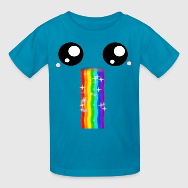 Rainbow Vomit - Kids' T-Shirt