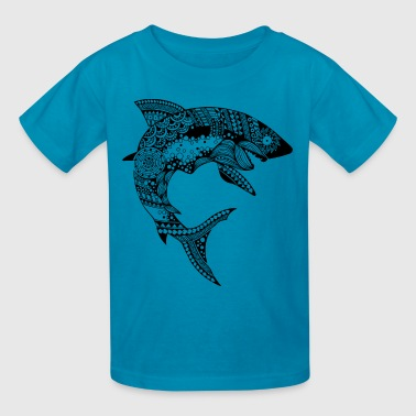 Shark South Seas Tees - Kids' T-Shirt