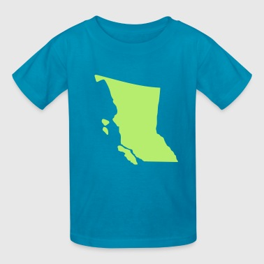 Canada - British Columbia - Kids' T-Shirt