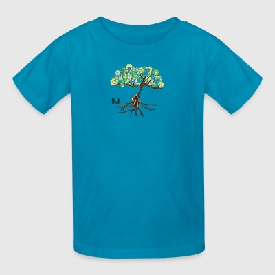 Guitar tree - Kids' T-Shirt