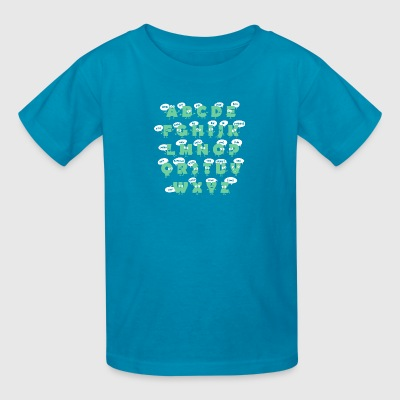 alphabetical abbreviations - Kids' T-Shirt