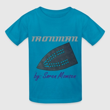 iron for Royal Blue garments - Kids' T-Shirt