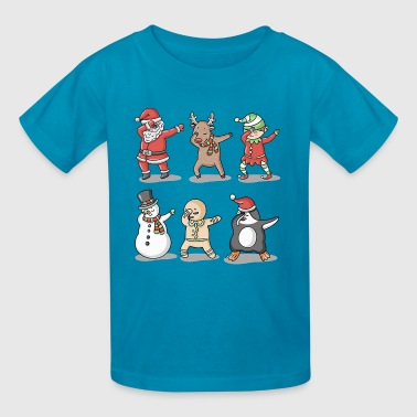 Dabbing Santa Ugly Sweater - Kids' T-Shirt