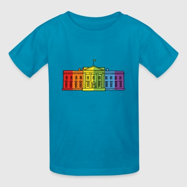 The Rainbow House - Kids' T-Shirt