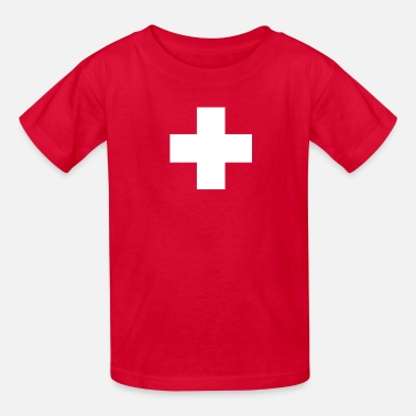 Swiss Swiss Cross - Kids' T-Shirt