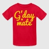 g'day mate (hello chap) - Kids' T-Shirt
