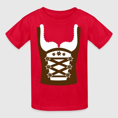 Dirndl - Kids' T-Shirt