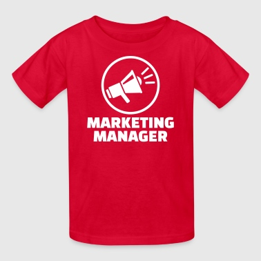Marketing manager - Kids' T-Shirt