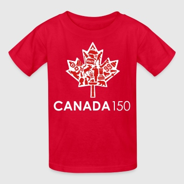 Canada 150 Womens - Red - Kids' T-Shirt
