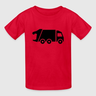 Garbage truck - Kids' T-Shirt