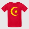 Crescent Moon & Star - Kids' T-Shirt