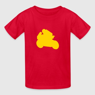 motorcycle racing - Kids' T-Shirt