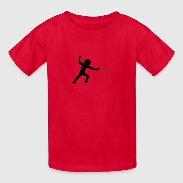 fencing - Kids' T-Shirt