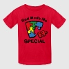 Autism God Made Me Special - Kids' T-Shirt