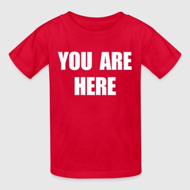 You Are Here Stargate - Kids' T-Shirt