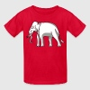 Siam Elephant Flag a - Kids' T-Shirt