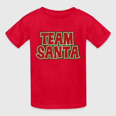 team santa claus for christmas  - Kids' T-Shirt