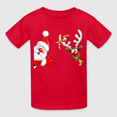 Santa And Rudolph Santa & Rudolph - Kids' T-Shirt