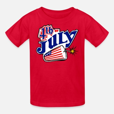 Born On The 4th Of July July 4th - Kids' T-Shirt