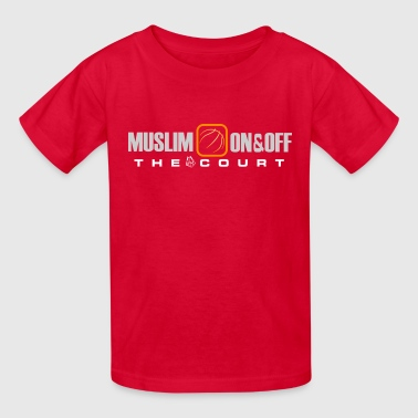 Muslim Wear Muslim on and off the court - Kids' T-Shirt