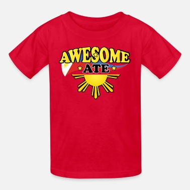 Philippines Kids Funny Funny Damit Awesome Ate - Kids' T-Shirt