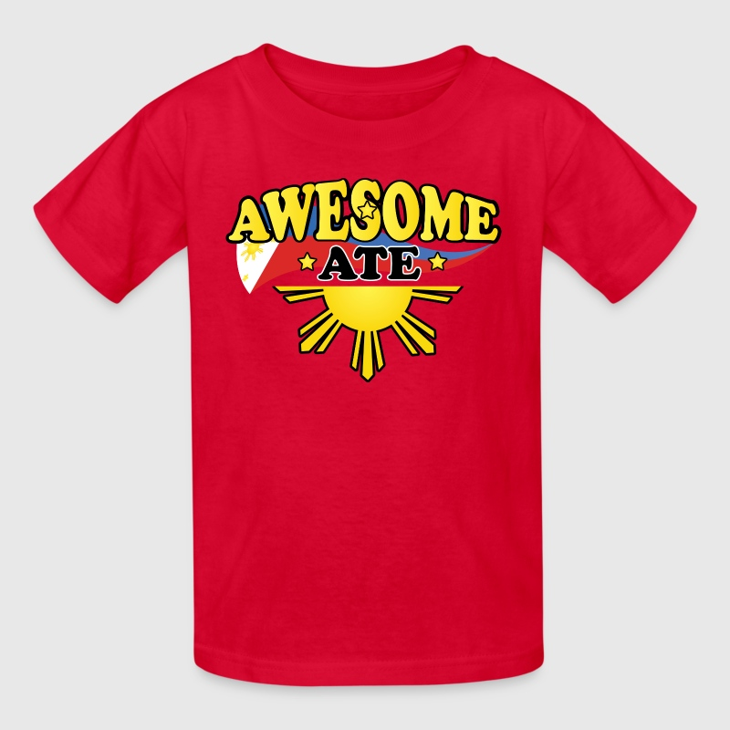 Funny Damit Awesome Ate - Kids' T-Shirt