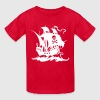 pirate ship - Kids' T-Shirt