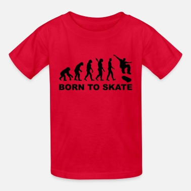 Skateboarding Evolution Evolution Skateboard - Kids' T-Shirt