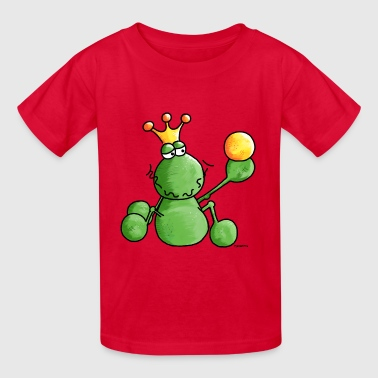 Funny Frog - Frogs - King - Kids' T-Shirt