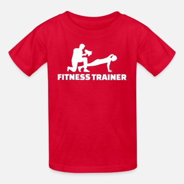 Fitness Trainer Fitness trainer - Kids' T-Shirt
