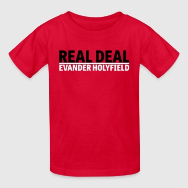 Real Deal Evander Holyfield mp - Kids' T-Shirt
