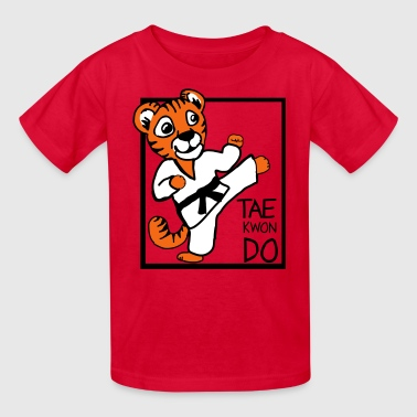 Tkd Taekwondo TKD Little Tiger - Kids' T-Shirt