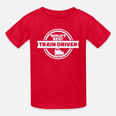 Train Driver Train driver - Kids' T-Shirt